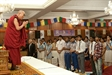 His Holiness the Dalai Lama Interacts with Younger and Older Audiences in New Delhi