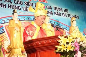 Thái Bình: Đêm hoa đăng Đại lễ cầu an, cầu siêu tại đền thờ Tổ họ Trần Việt Nam