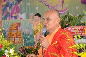 Chùa Pháp Minh: Tổ chức đại lễ Phật đản PL: 2559