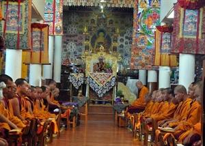 Ấn Độ: Đức Đạt Lai Lạt Ma tuần hành vì hòa bình cùng 40 vị tăng Thái Lan