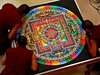 The Life and Death of a Sand Mandala