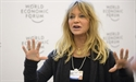 And breathe ... Goldie Hawn and a monk bring meditation to Davos