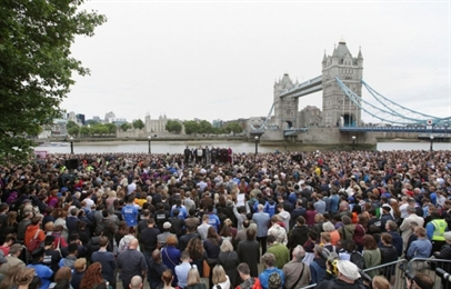 Tears and Unity at Multi-faith Vigil for Victims of London Terror Attack