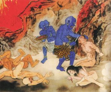Kết quả hình ảnh cho tội tà dâm đọa địa ngục